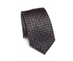 Saks Fifth Avenue Collection  - Polka Dotted Silk Tie