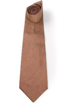 Gianfranco Ferre Vintage -  Houndstooth Pattern Tie