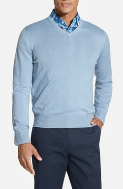 Robert Talbott  - Classic Fit V-Neck Sweater