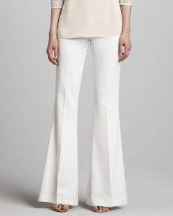 Nha Khanh   - Flared High-Waist Pants