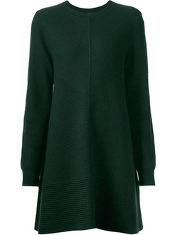Proenza Schouler - Ribbed Knit Sweater Dress