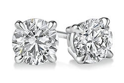 PARIKHS - Round Diamond Stud Prime Earrings