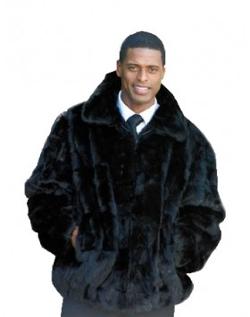 Henig Fur - Mink Fur Bomber Jacket