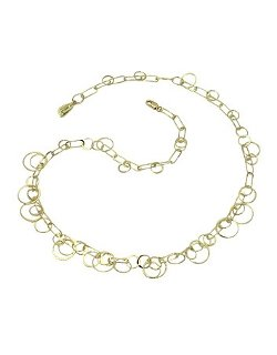 Orlando Orlandini - Yellow Gold Circles Necklace