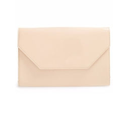 Halogen - Patent Leather Clutch