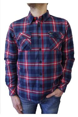 Jetty Apparel  - Merka Sherpa Lined Flannel Shirt