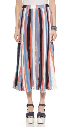 Elle Sasson - Koa Silk Skirt