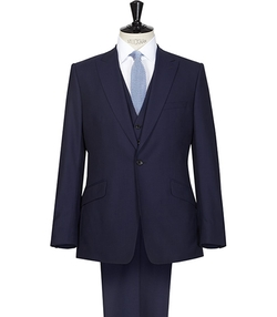 Reiss - Peak Lapel Three Piece Suit