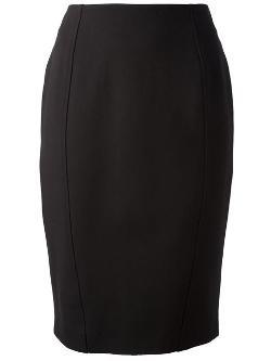 Moschino Cheap & Chic - Zip Pencil Skirt