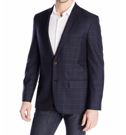 Haggar - Side Vent Plaid Sport Coat