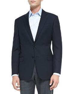 Armani Collezioni   - Basic Wool Jacket