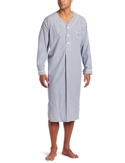 Majestic International - Bengal Striped Nightshirt