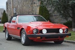 Aston Martin - 1980 V8 Volante Convertible Car