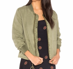 Michael Stars - Cinched Bomber Jacket