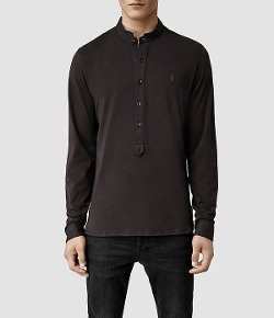 All Saints - Saints Long Sleeved Henley