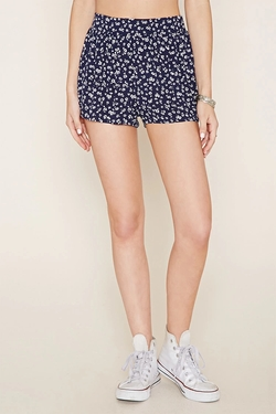 Forever 21 - Floral Print Shorts