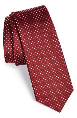 The Tie Bar - Silk Pin Dot Tie