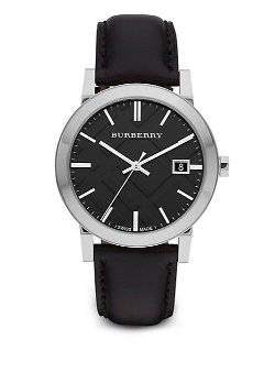 Burberry  - Round Stainless Steel Watch