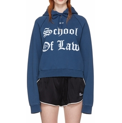 Off-White - Diana Pleated Hoodie