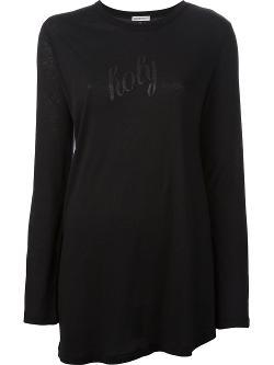 Ann Demeulemeester  - Long Sleeve Top