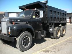 Mack - 1963 B61 Dump Truck