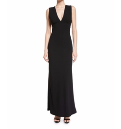 T by Alexander Wang  - Solid Sleeveless Maxi Dress