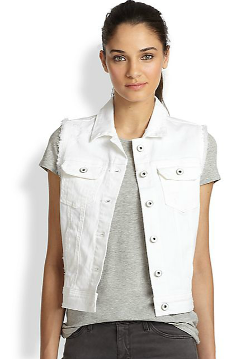 Adriano Goldschmied  - Heather Denim Vest