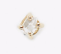 Kristen Elspeth - Small Herkimer Diamond Stud