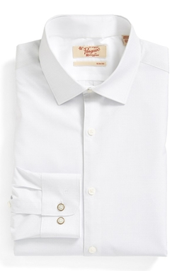 Original Penguin  - Slim Fit Dobby Dress Shirt