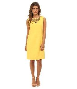 Ellen Tracy - Sleeveless Embellished Dress