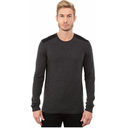 John Varvatos Star U.S.A. - Long Sleeve Crew Sweater
