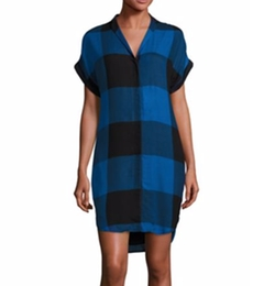 Rag & Bone - Cooper Buffalo Plaid Shirtdress