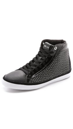 Just Cavalli  - Studded High Tops Sneakers