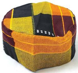 African Inspired Fashions - Kente Kufi Kofi Hat Style #3