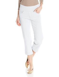 Jag Jeans - Caley Pull On Twill Crop Pants