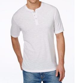 Weatherproof  Vintage  - Pique Slub Henley Shirt