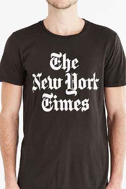Urban Outfitters - Altru New York Times Tee Shirt