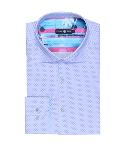 Stone Rose - Polka Dot Button Down Shirt