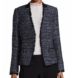Ivanka Trump - Tweed Lace-Trimmed Blazer