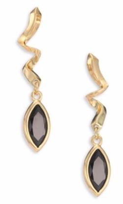 Eddie Borgo  - Navette Crystal Drop Earrings