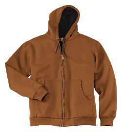 Cornerstone - Big Hooded Full Zipper Jacket