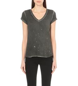 Paige Denim - Charlie Foil Jersey T-Shirt