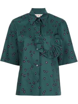 Marni   - Teardrop Short Sleeved Shirt