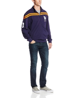 U.S. Polo Assn. - Chest-Stripe Track Jacket