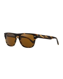 Oliver Peoples - Strathmore VFX+ Polarized Square Sunglasses, Coco
