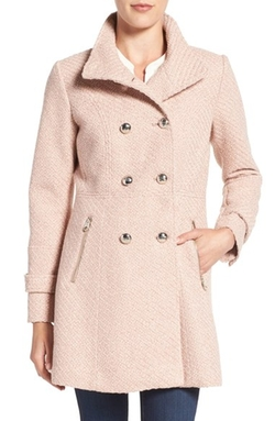 Jessica Simpson  - Fit & Flare Officers Coat