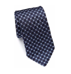 Eton of Sweden  - Geometric Patterned Silk Tie