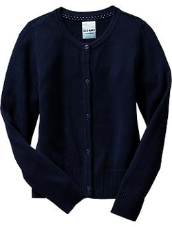 Old Navy - Girls Uniform Cardigan