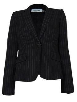 Calvin Klein - Striped Suit Jacket