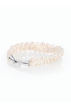 Talbots - Freshwater Pearl & Sterling Silver Bracelet
